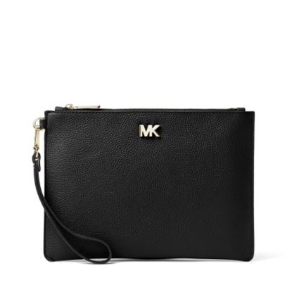 Picture of Michael Kors Medium Zip Pouch - Black