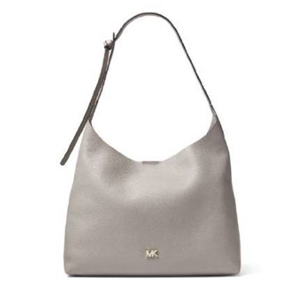 Picture of Michael Kors Junie Medium Hobo - Pearl Grey