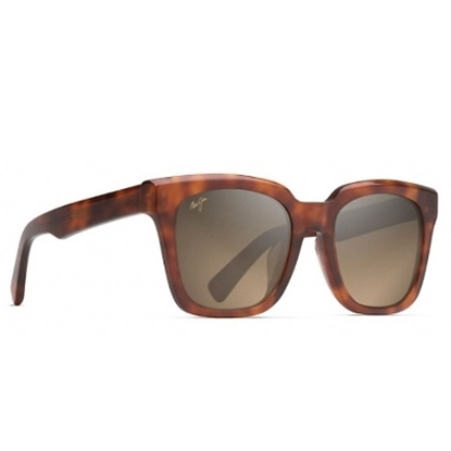 Picture of Maui Jim Heliconia Polarized Sunglasses - Koa Tortoise/Bronze