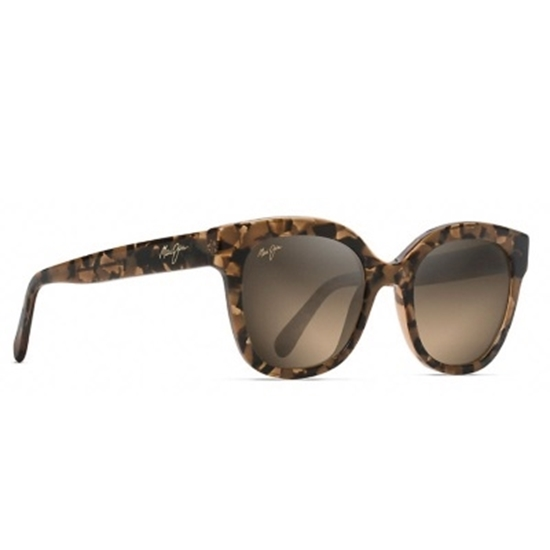 0baa1ec43a4b Picture of Maui Jim Honey Girl Polarized Sunglasses - Caramel/Bronze. A  beautifully chic cat eye ...