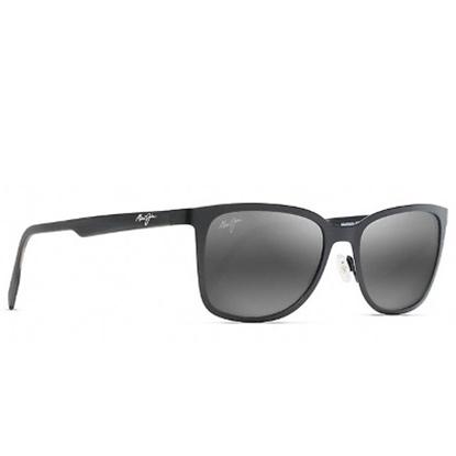 Picture of Maui Jim Naupaka Polarized Sunglasses - Matte Black/Grey