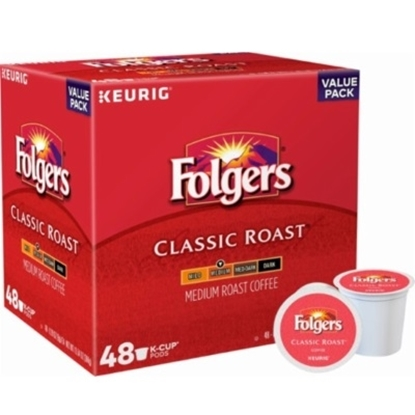 Picture of Keurig® 48-Count Folgers® Coffee Classic Roast K-Cups®