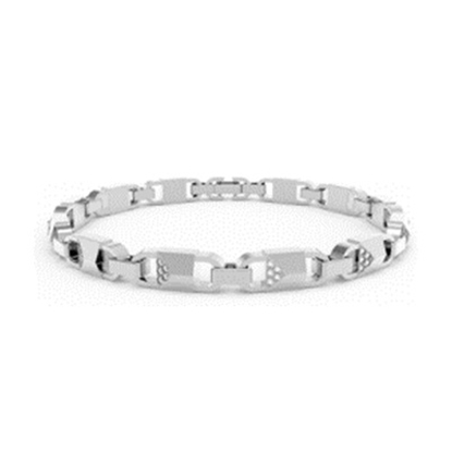 Picture of Michael Kors Mercer Link Sterling Silver Bracelet
