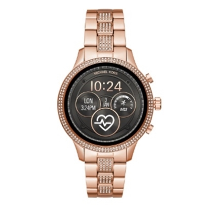 Picture of Michael Kors Access Runway Rose Gold Pav? Smartwatch