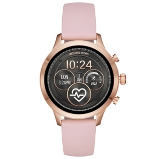 Picture of Michael Kors Access Runway Pink Silicon Touchscreen Smartwatch