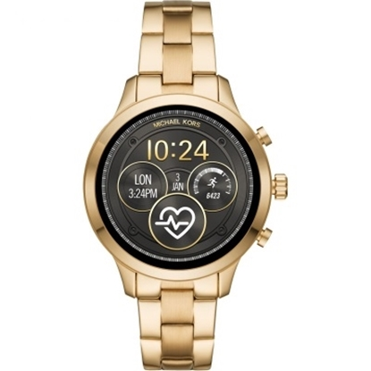 Picture of Michael Kors Access Runway Gold-Tone Touchscreen Smartwatch