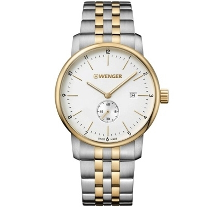 Picture of Wenger Urban Classic Two-Tone Stainless Steel Watch