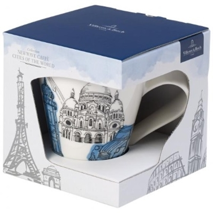 Picture of Villeroy & Boch New Wave Cafe Paris Mug - Gift Boxed