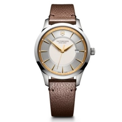Picture of Victorinox Alliance Watch with Two-Tone Dial & Leather Strap