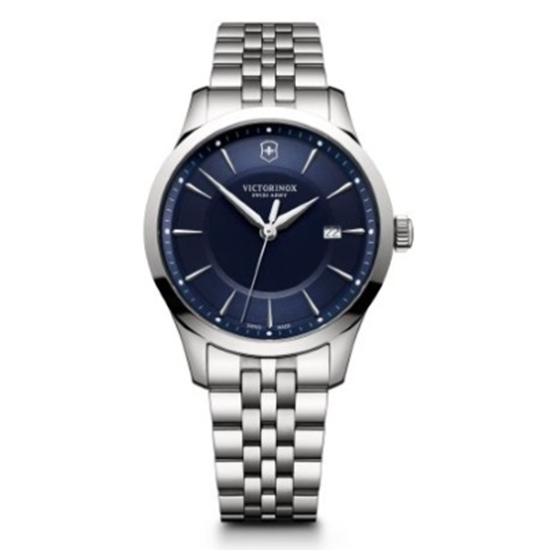 Picture of Victorinox Alliance Large Stainless Steel Watch w/ Blue Dial