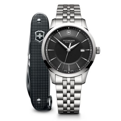 Picture of Victorinox Alliance Stainless Steel Watch with Pocket Knife