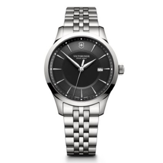 Picture of Victorinox Alliance Large Stainless Steel Watch w/ Black Dial