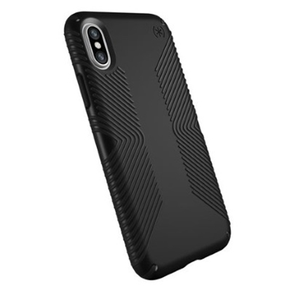 Picture of Speck iPhone® X Presidio Grip Case - Black/Black