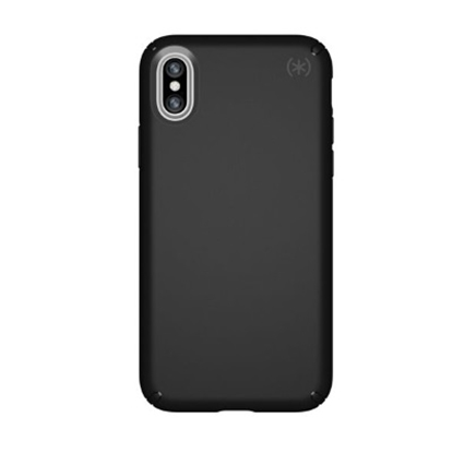 Picture of Speck iPhone® X Presidio Case - Black/Black