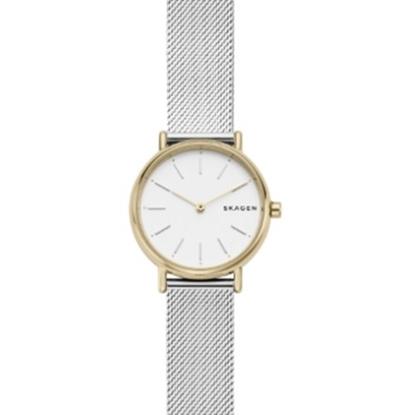 Picture of Skagen Ladies' Signature Gold-Tone Mesh Strap Watch