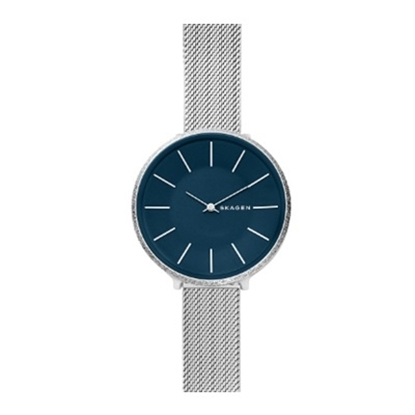 Picture of Skagen Ladies' Karolina Mesh Strap Watch with Blue Dial