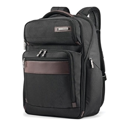 Picture of Samsonite Kombi Large Backpack - Black/Brown