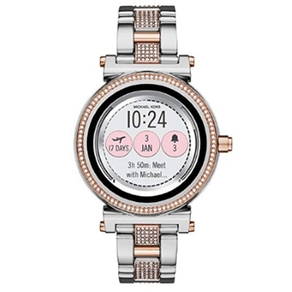 5694a7268bd4 Michael Kors Access Sofie Two-Tone Touchscreen.