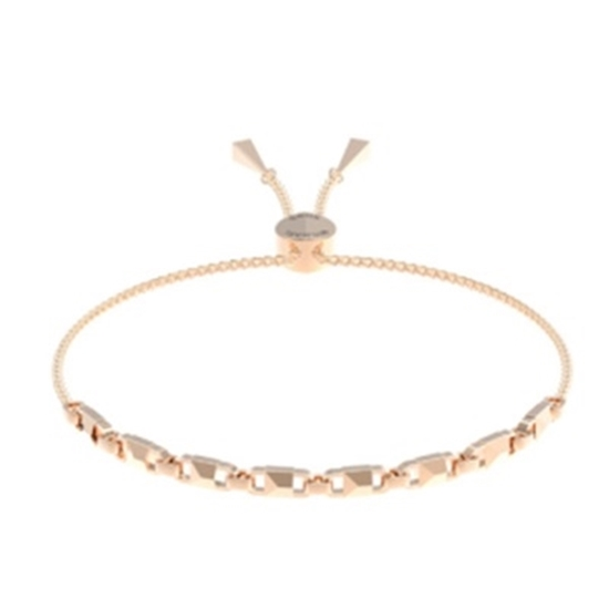Picture of Michael Kors Mercer Link 14k Rose Gold Plated Slider Bracelet