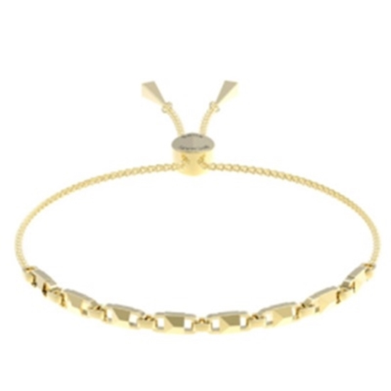 Picture of Michael Kors Mercer Link 14k Gold Plated Slider Bracelet