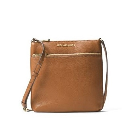 Picture of Michael Kors Small Flat Crossbody - Acorn