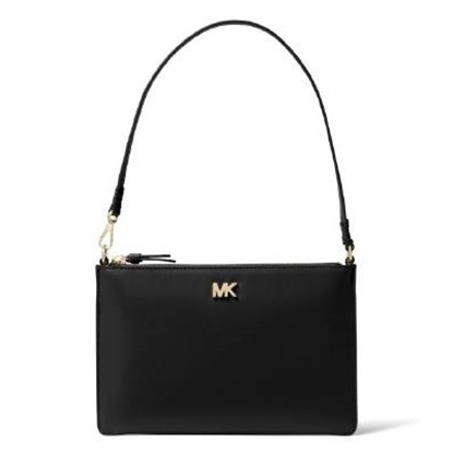 Picture of Michael Kors Medium Convertible Pouchette - Black