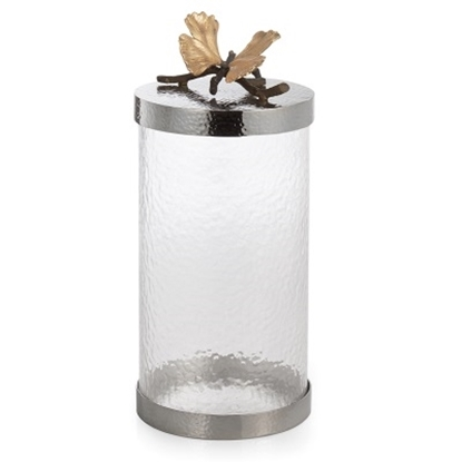 Picture of Michael Aram Butterfly Ginkgo Canister - Large