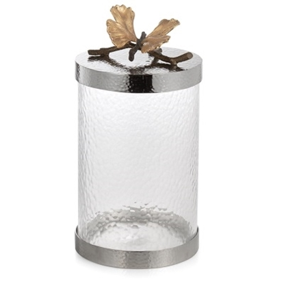 Picture of Michael Aram Butterfly Ginkgo Canister - Medium