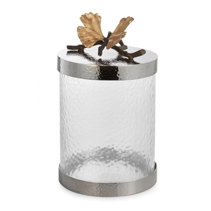 Picture of Michael Aram Butterfly Ginkgo Canister - Small