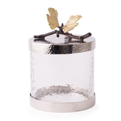 Picture of Michael Aram Butterfly Ginkgo Canister - X-Small