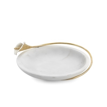 Picture of Michael Aram Calla Lily Marble Dish