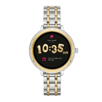 Picture of Kate Spade Athena Two-Tone Steel Touchscreen Smartwatch