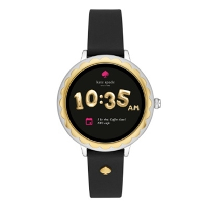 Picture of Kate Spade Athena Black Silicone Touchscreen Smartwatch