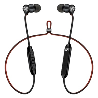 Picture of Sennheiser HD1Free Wireless In-Ear Headphones - Black/Red
