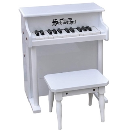Picture of Schoenhut 25-Key Traditional Spinet - White