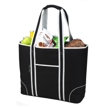 Picture of Picnic at Ascot Large Insulated Tote - Black