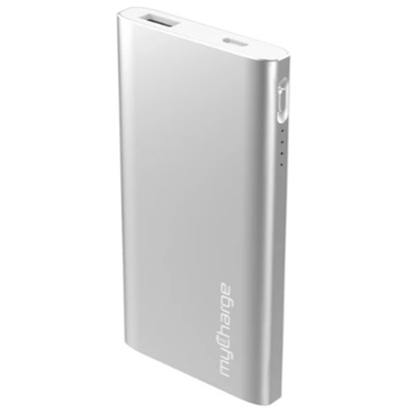 Picture of MyCharge® RazorPlus 4000mAh Portable Charger - Silver