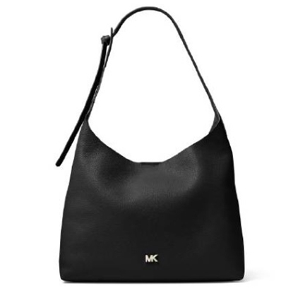 Picture of Michael Kors Junie Medium Hobo - Black