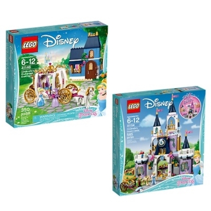 Picture of LEGO® Disney Cinerella Enchanted Castle Bundle