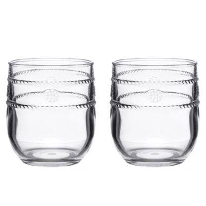 Picture of Juliska Berry & Thread Isabella Acrylic Tumblers - Set of 8