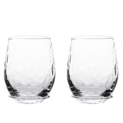 Picture of Juliska Carine Stemless White Wine Glasses - Set of 4