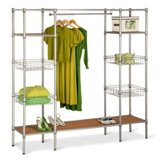 Picture Of Honey Can Do® Freestanding Closet Organizer