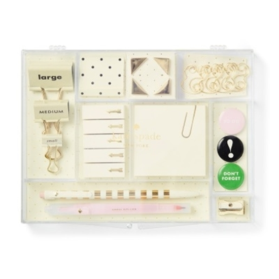 4b2dbea18d228 MileagePlus Merchandise Awards. Kate Spade Desk Accessories Tackle Box