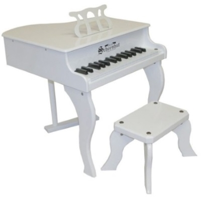 Picture of Schoenhut 30-Key Fancy Baby Grand - White
