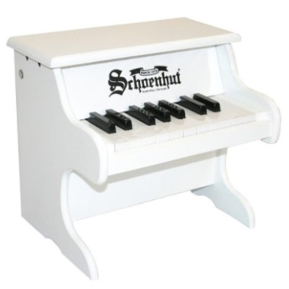 Picture of Schoenhut 18-Key My First Piano - White