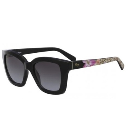 Picture of Salvatore Ferragamo Ladies' Square Sunglasses - Black