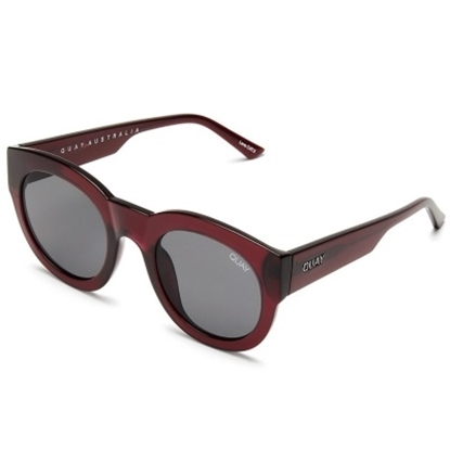 Picture of Quay If Only Sunglasses - Red/Smoke