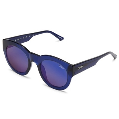 Picture of Quay If Only Sunglasses - Blue/Blue