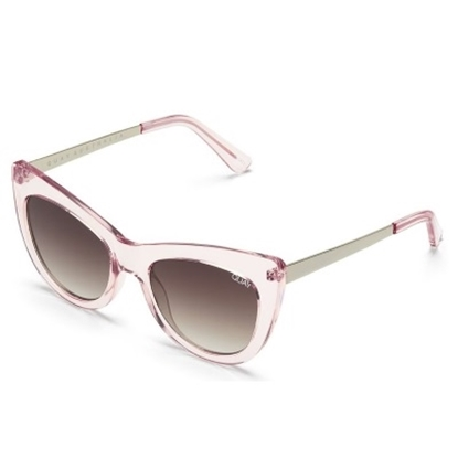Picture of Quay Steal A Kiss Sunglasses - Pink/Brown