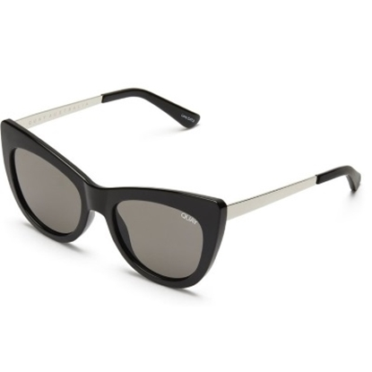 Picture of Quay Steal A Kiss Sunglasses - Black/Smoke
